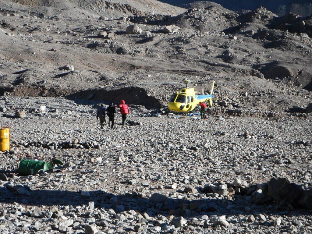 Tony, evacuated from Aconcagua Mountain